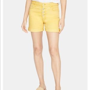 Sanctuary Fearless High Rise Button Fly Shorts NWT